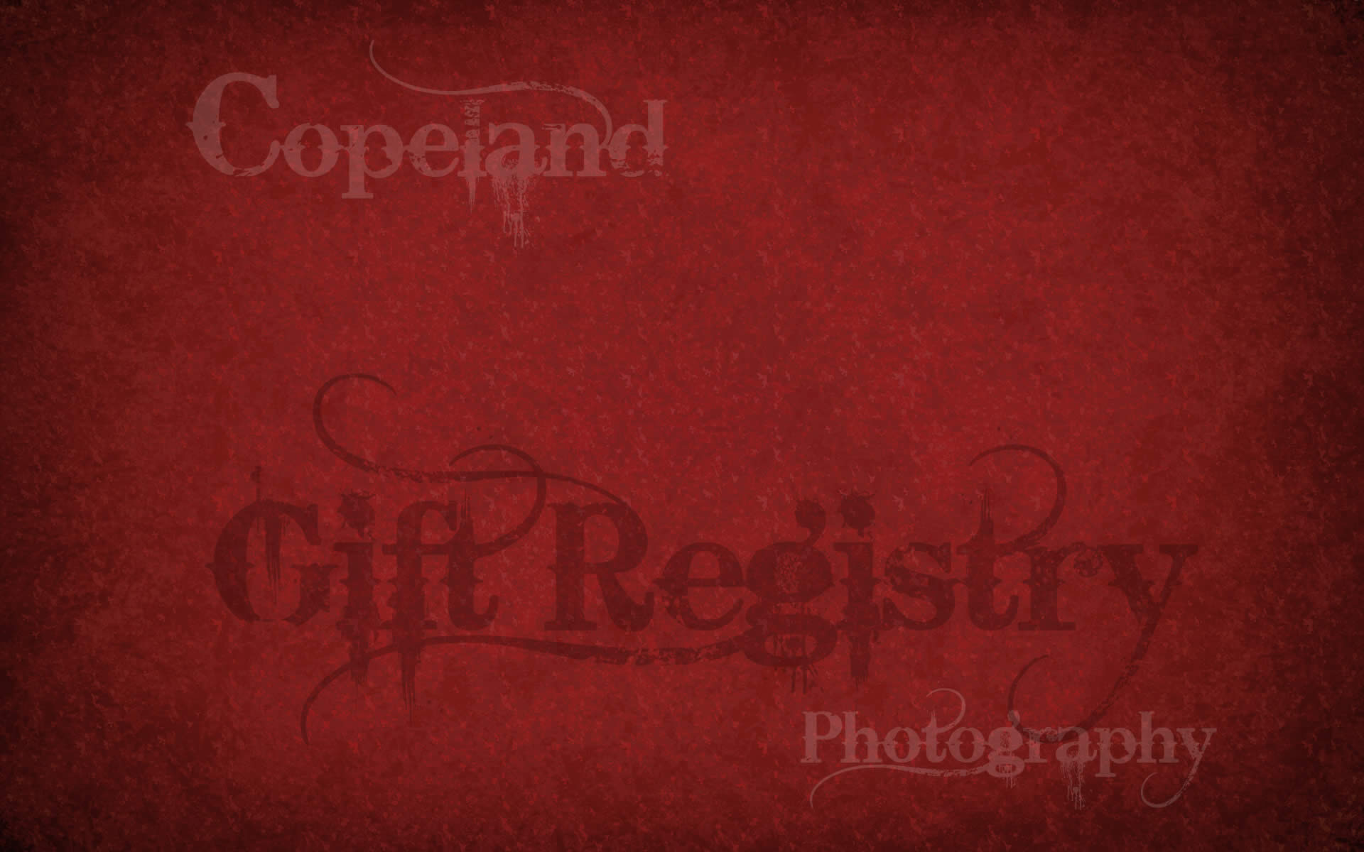 Copeland Photography Gift Registry